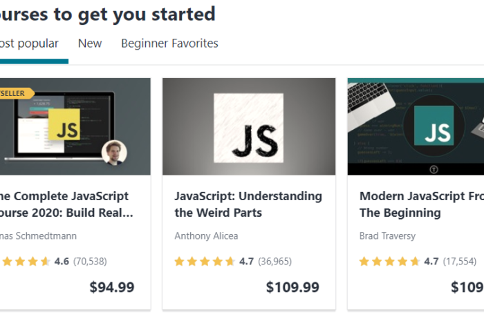 Best Udemy javascript course A Comprehensive Guide