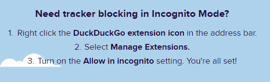 How to make DuckDuckGo default search engine