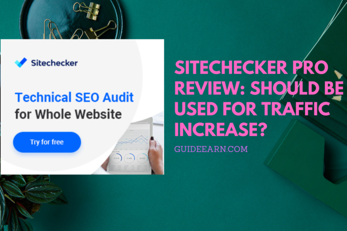 Sitechecker Pro Review: Should be used for Traffic Increase?