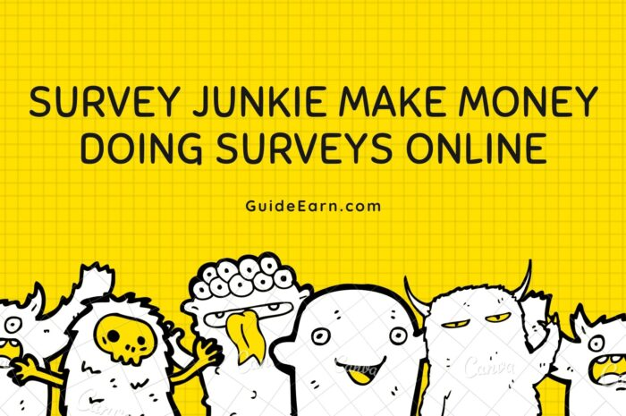 Survey Junkie Make Money Doing Surveys Online